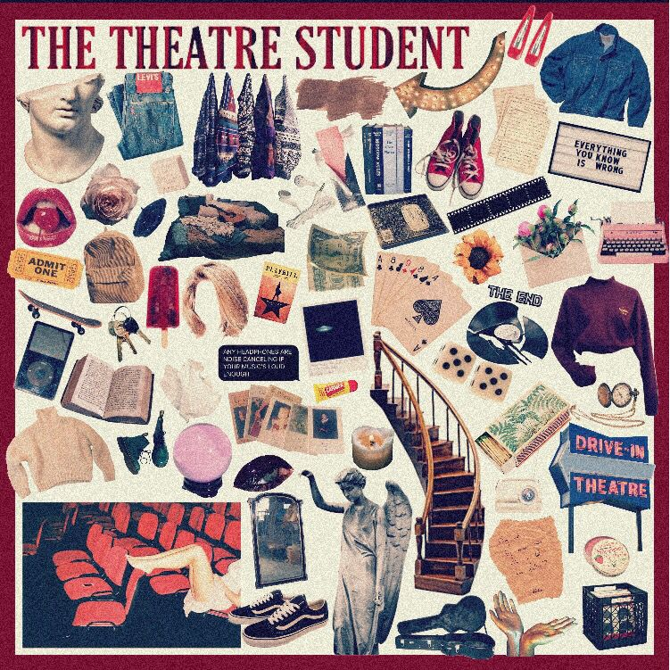 Theatre Moodboards Aesthetic Playbill Musicaltheatre Theatre Kid Theatre Student Art
