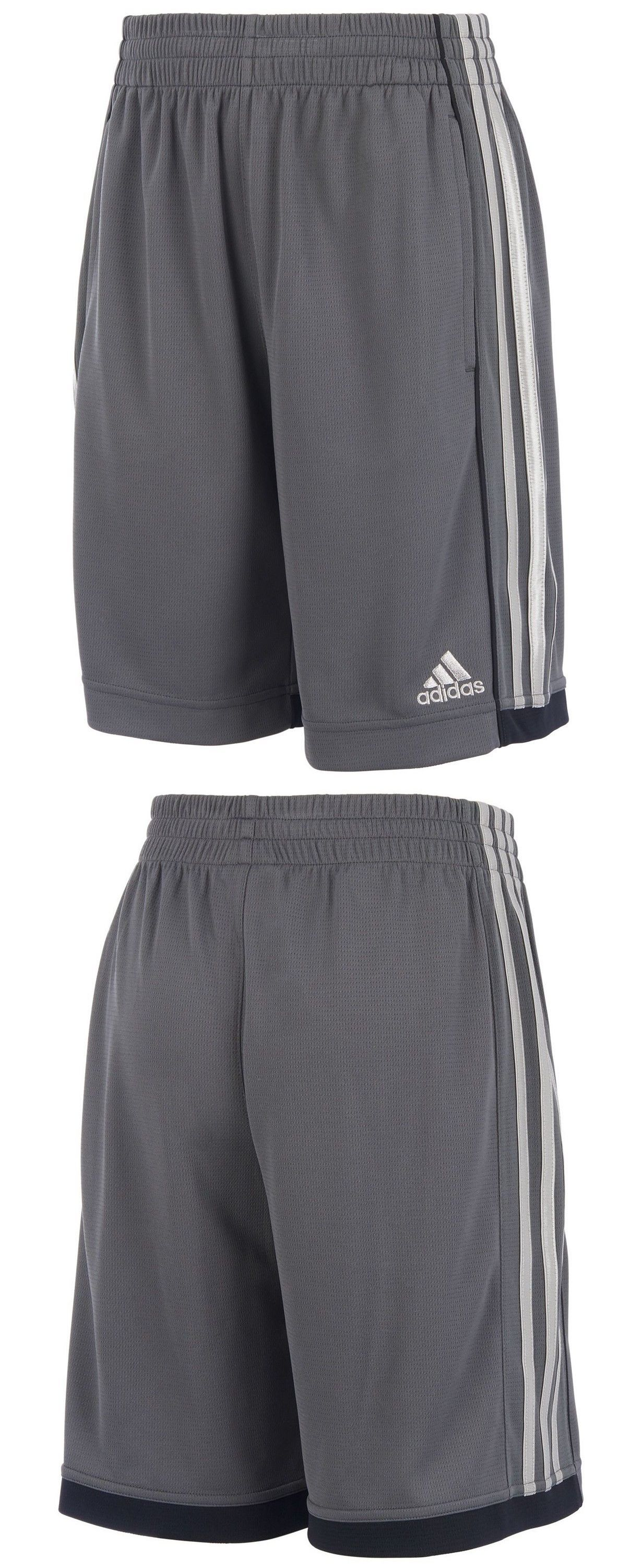 1d6ef75a880dfe Shorts 15615  Adidas Speed 18 Shorts Boys Youth L Large 14 16 Grey Athletic  -  BUY IT NOW ONLY   16.99 on  eBay  shorts  adidas  speed  youth  large    ...
