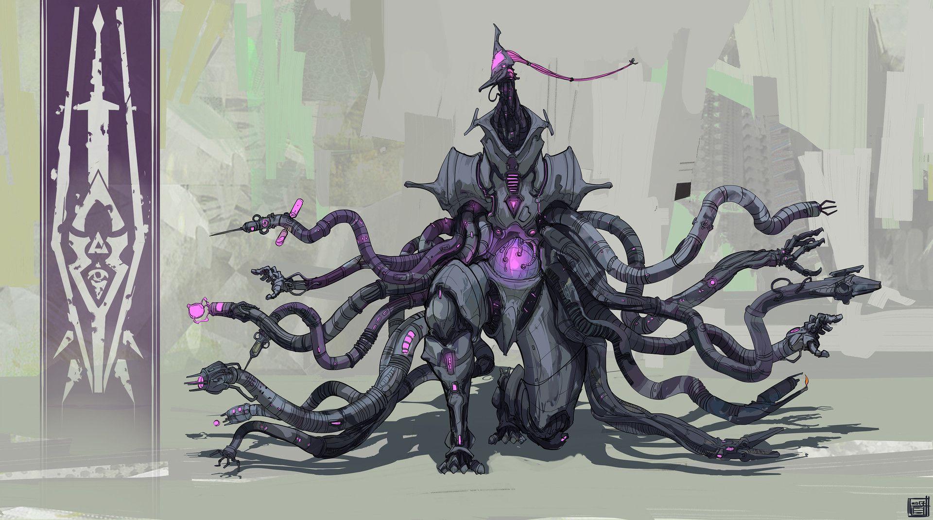 ArtStation - Character Design Challenge - Beyond Human Villains, Hue Teo