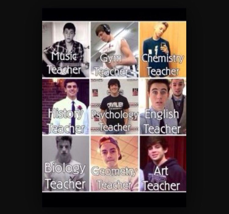 I would be willing to go to school if I went to Magcon Academy