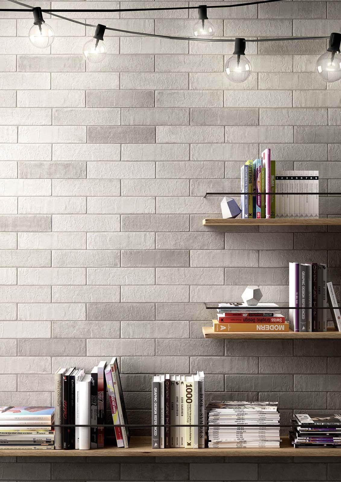 Kitchen Tiles Brick Effect terramix - brick effect porcelain stoneware | marazzi | veggfliser