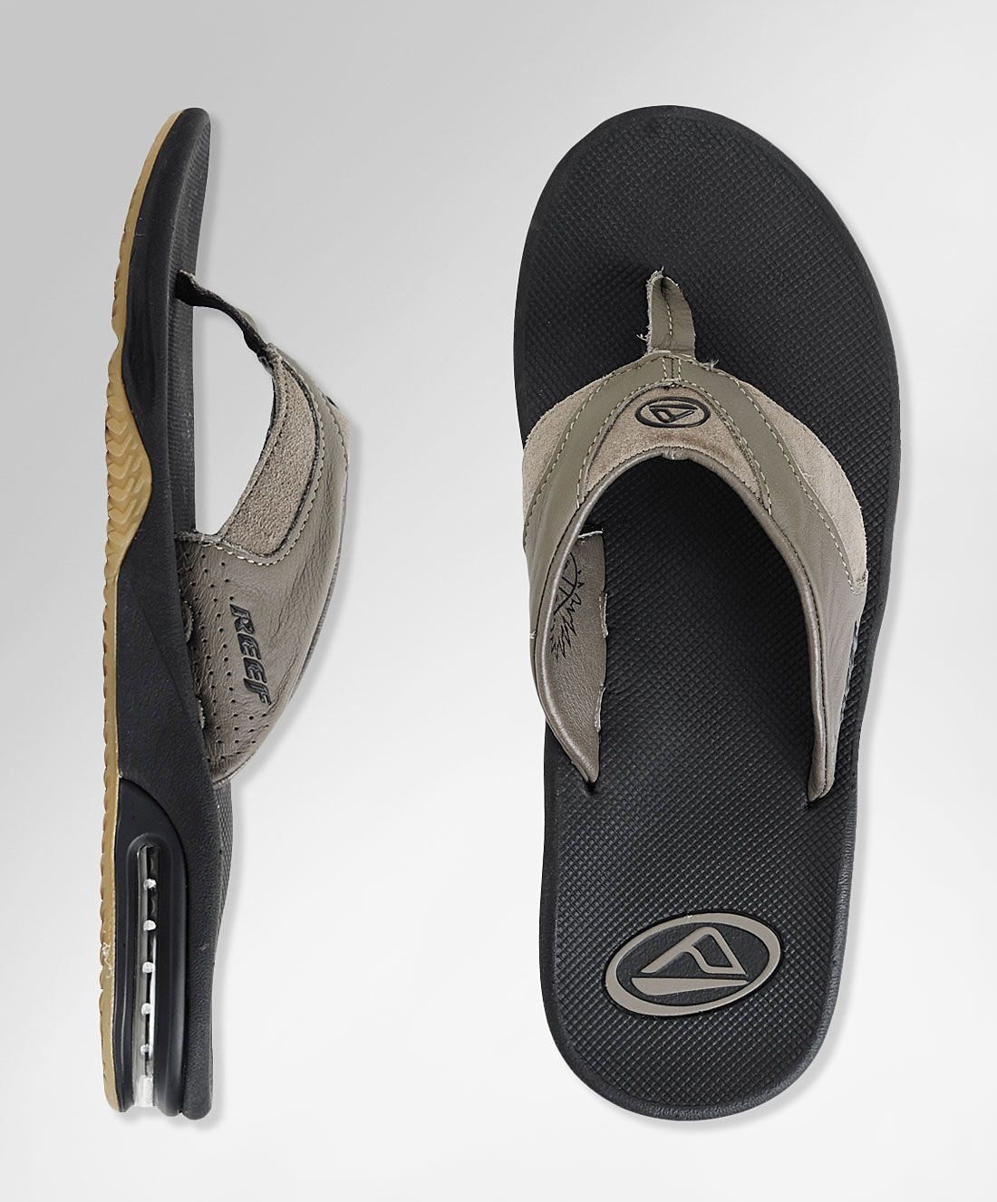 Reef Leather Fanning Sandals Reef Official Store | Stylish