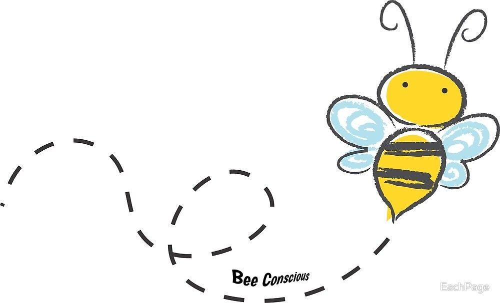 Bee Conscious Bee Drawing Cartoon Bee Bee Clipart
