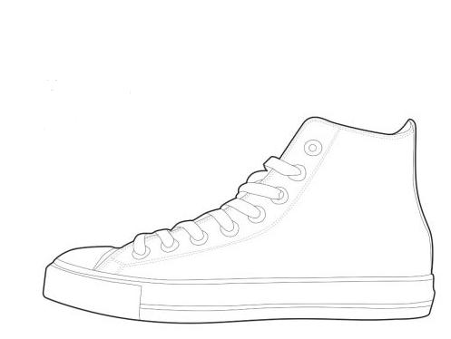white converse printable - Google Search | Education | Pinterest ...