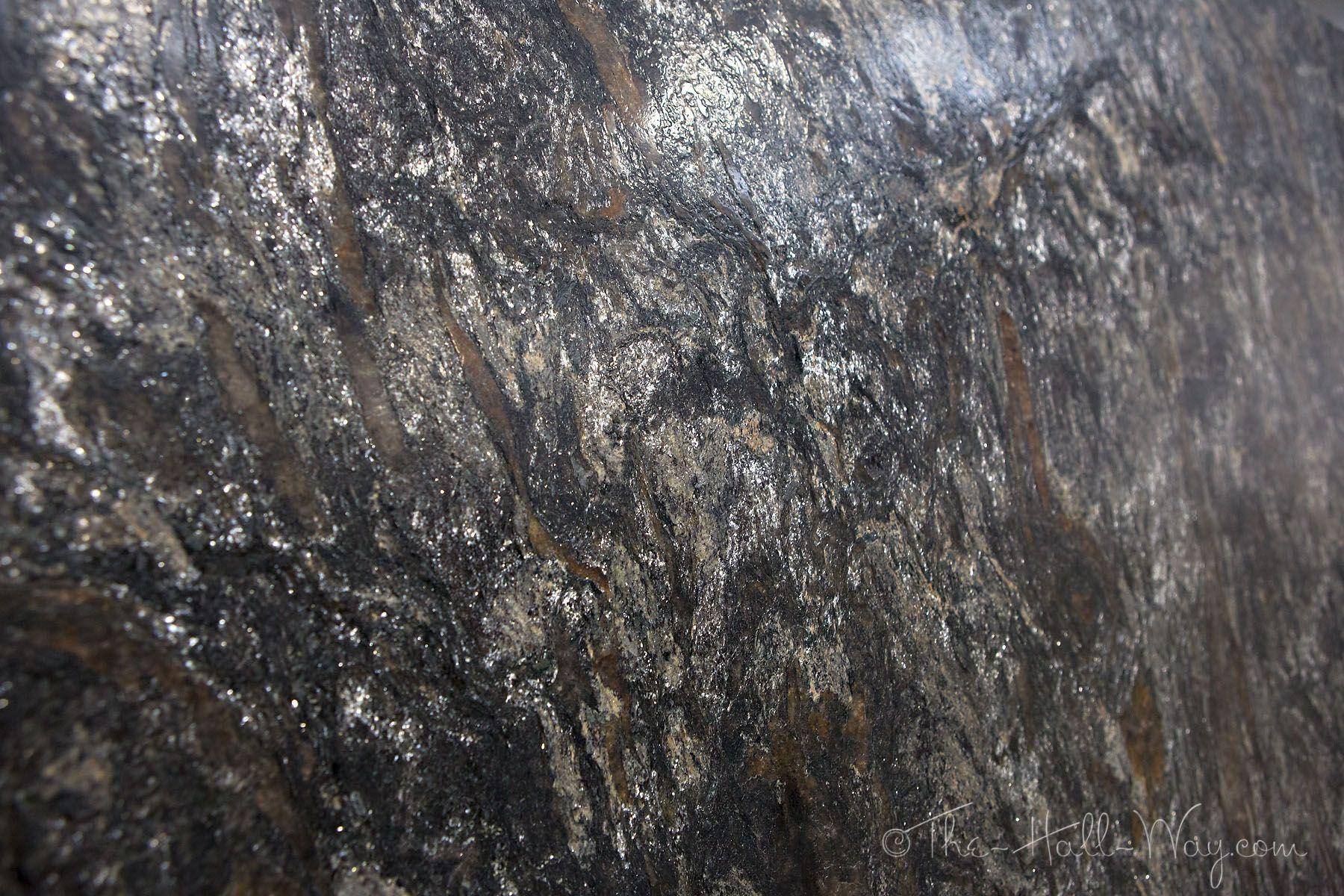Metallic Leathered Granite