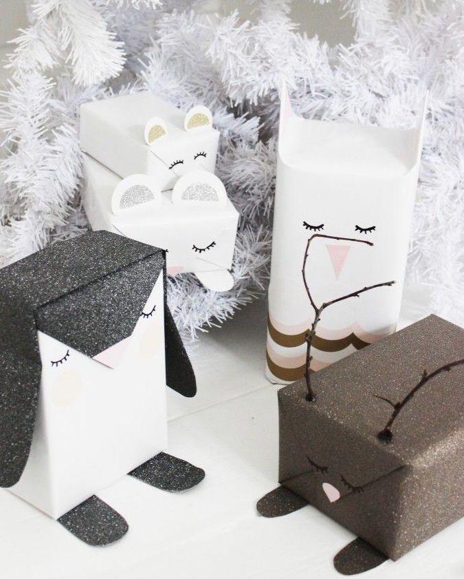 geschenkverpackung weihnachten pinterest. Black Bedroom Furniture Sets. Home Design Ideas