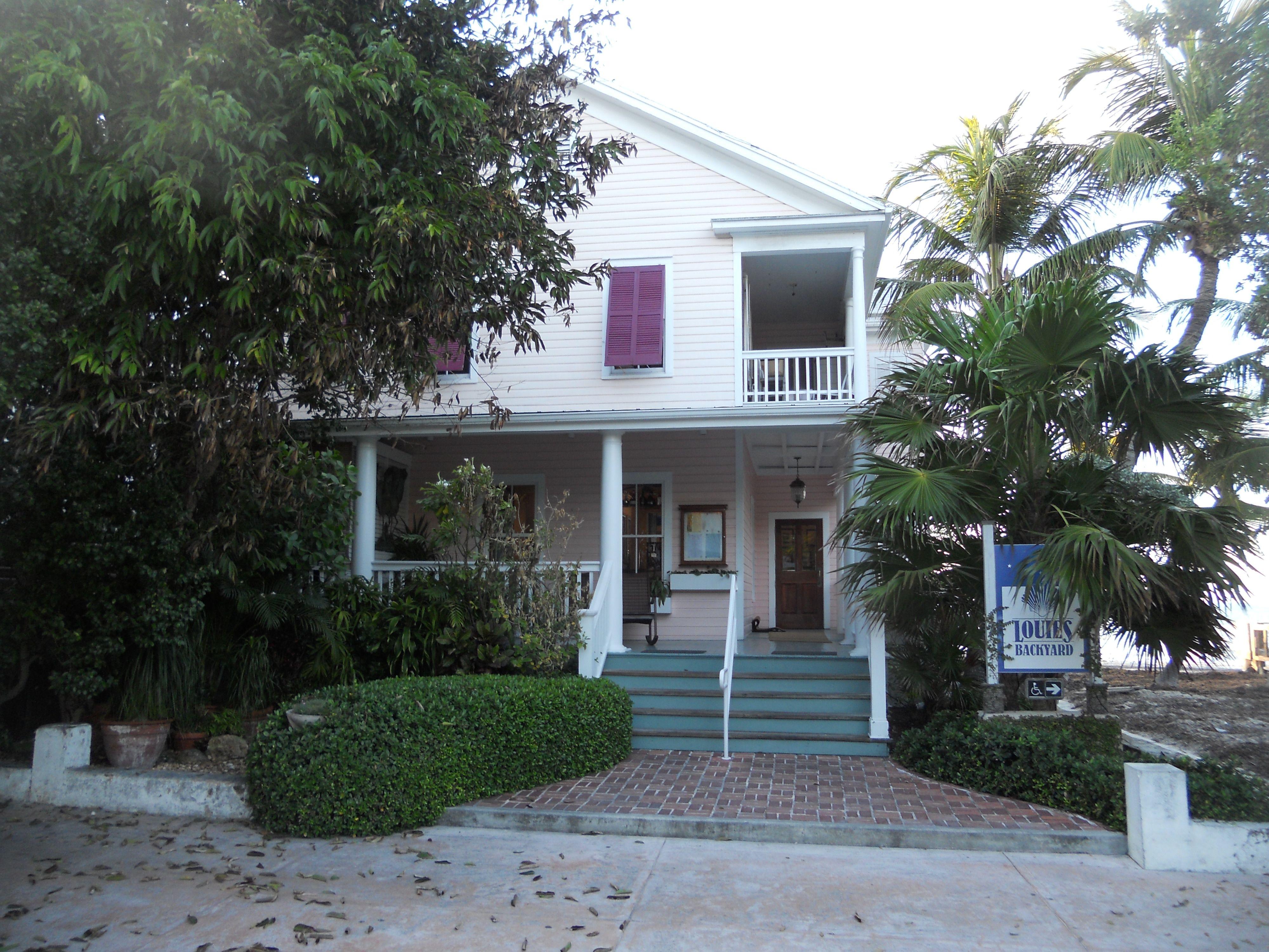 Louie's Backyard at Key West, Florida. | Key west