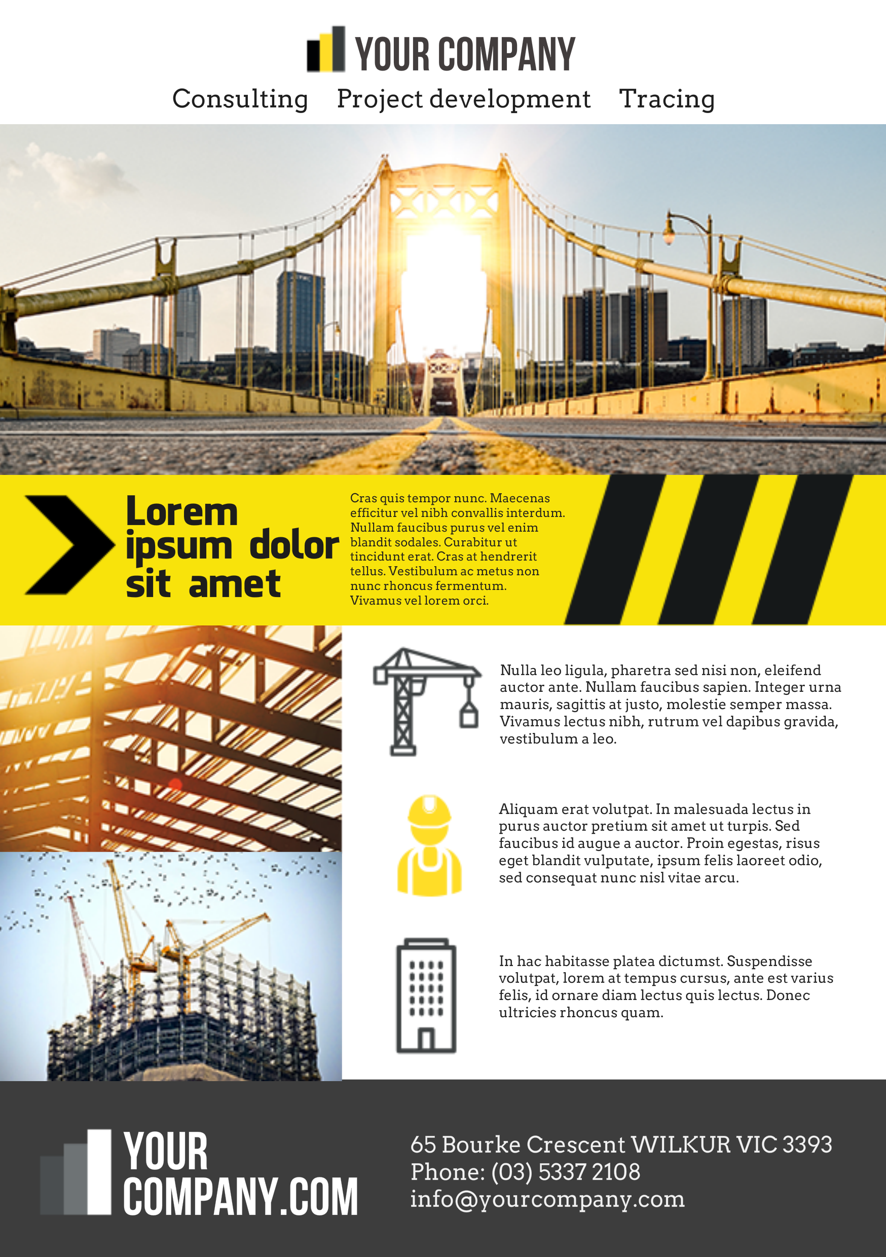 Construction A Promotional Flyer HttpPremadevideosComA