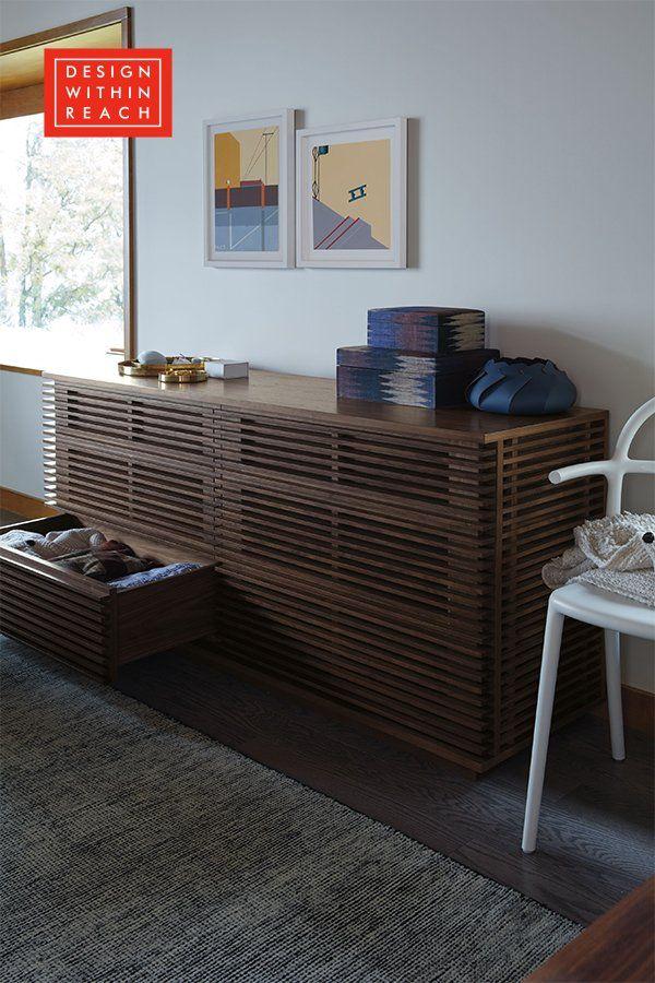 Line Wide Dresser Wide dresser, Bedside table design