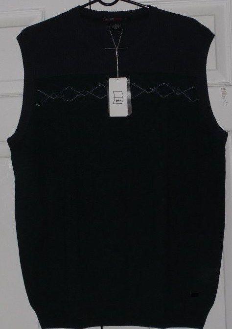Nike Tiger Woods Men's Golf Vest. Pullover, V-Neck, Dark Green and Grey, L, NWT #TigerWoods