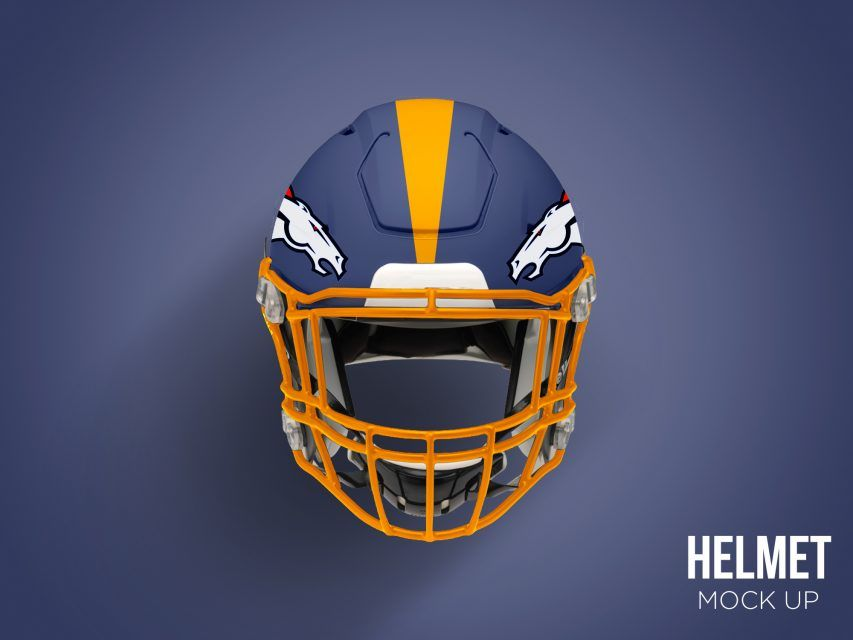 Download Free Football Helmet Mockup Psd At Downloadmockup Com Free Photoshop Mockup Psd Football Helmet Football Helmets Free Football Helmet