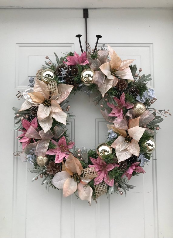 Christmas Wreaths For Front Door, Winter Wreaths, Christmas Wreaths