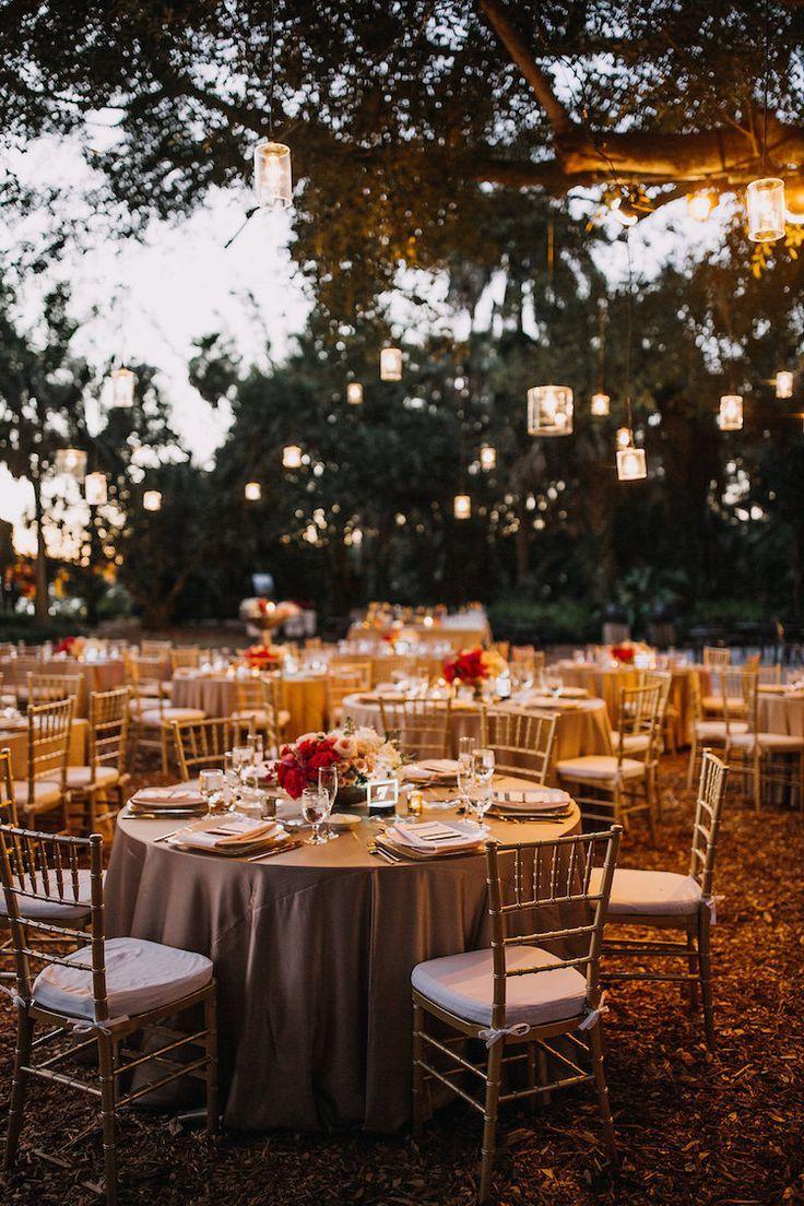 Modern Acrylic Botanical Garden Wedding with Floating Florals! #botanicgarden