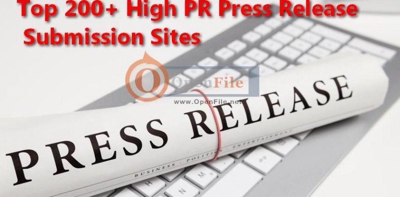 200+ Best Paid and Free Press Release Sites 2016 in 2020