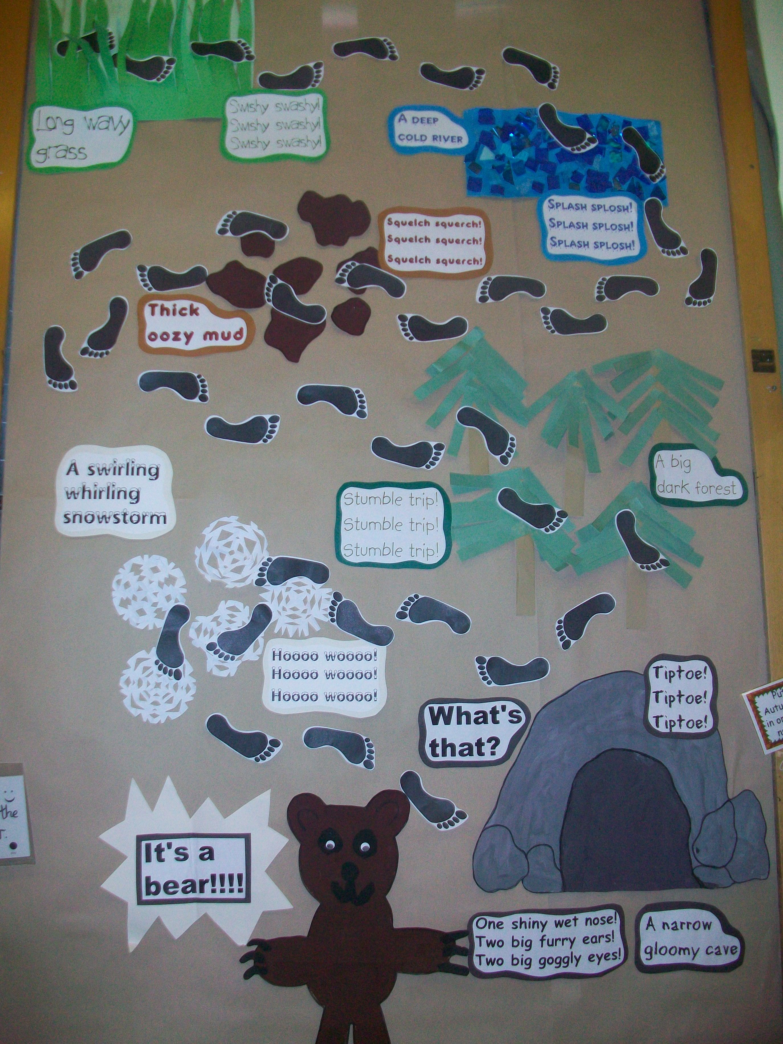 Story Telling For Esl Kids We Re Going On A Bear Hunt