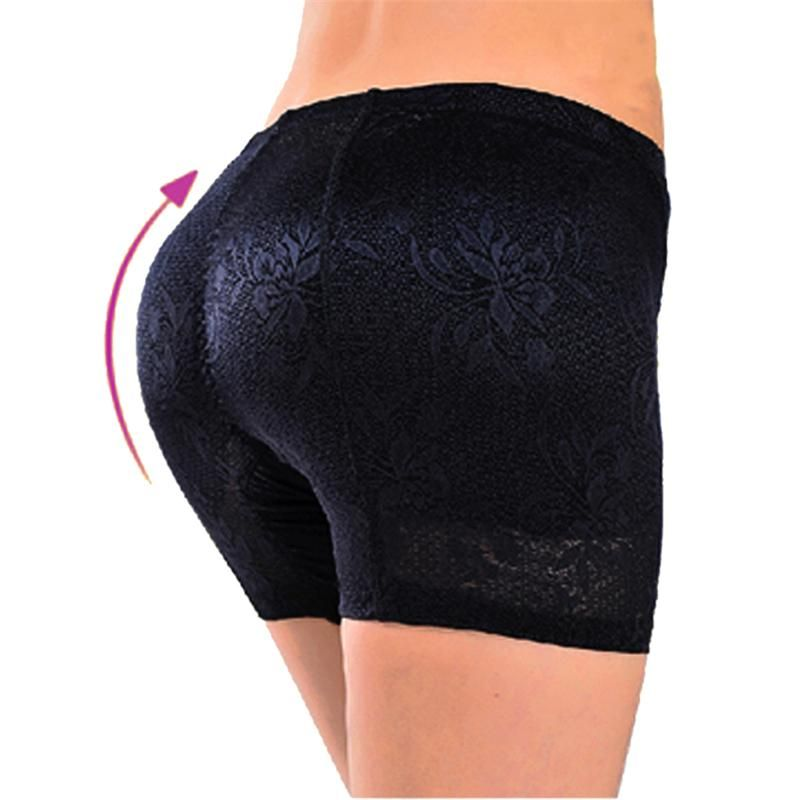 7f45b09c8 MYLEY Womens Butt And Hip Enhancer Booty Padded Underwear Panties Body  Shaper Seamless Butt Lifter Panty Boyshorts Shapewear