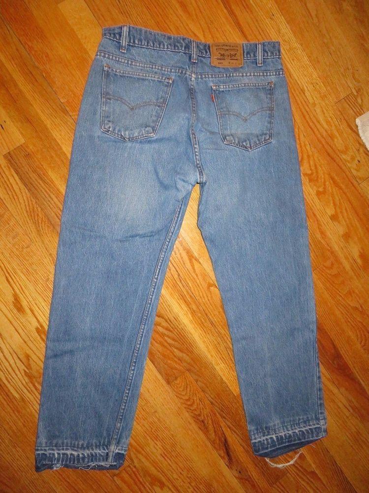 465c0dd9 Vintage LEVIS 505 Jeans, Regular Fit, Men's 36 x 29 Orange tag USA #Levis # Vintage