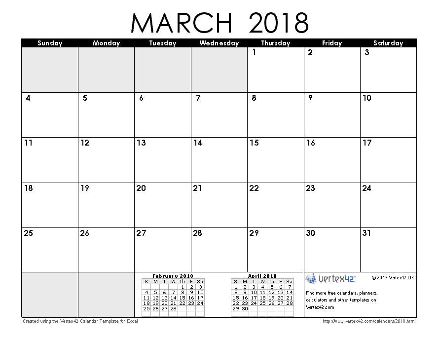 march 2018 calendar in spanish