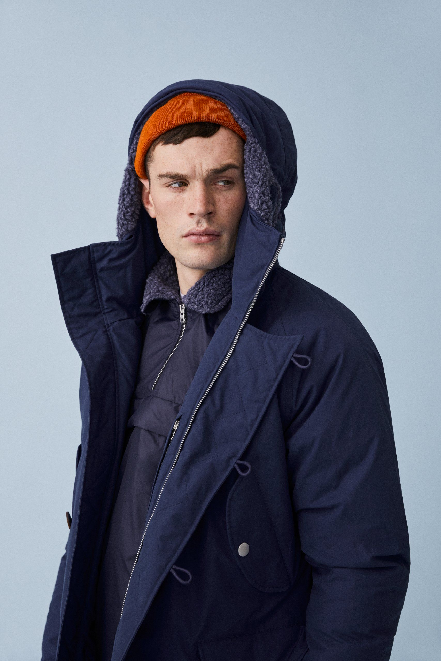 6813808ae DOWN PARKA: Vintage style meets high tech design in this down parka ...