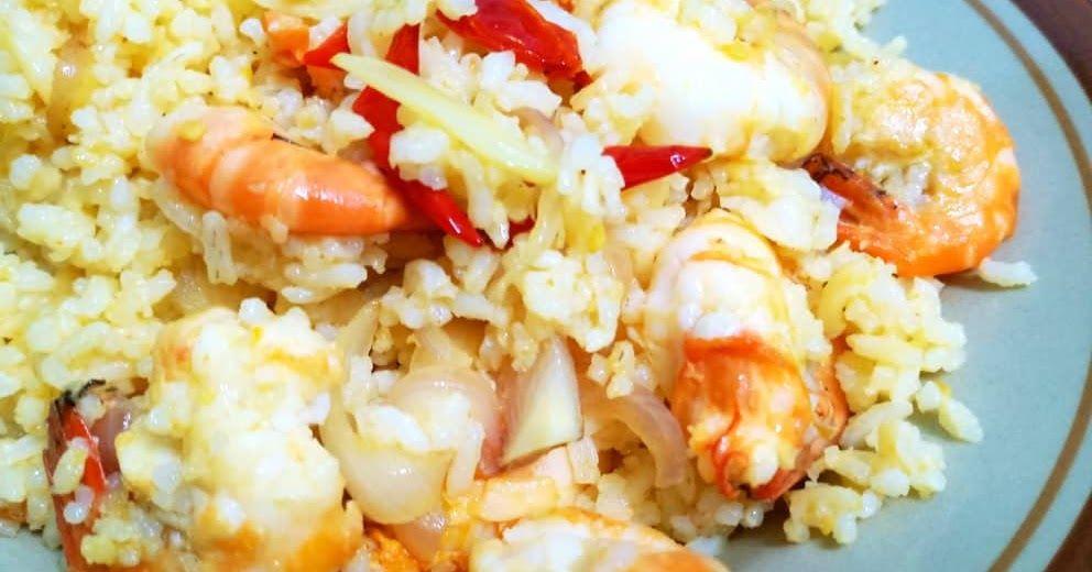 Resepi Nasi Goreng Udang Galah Yang Memang Sedap Udang Cara Memasak Nasi Goreng