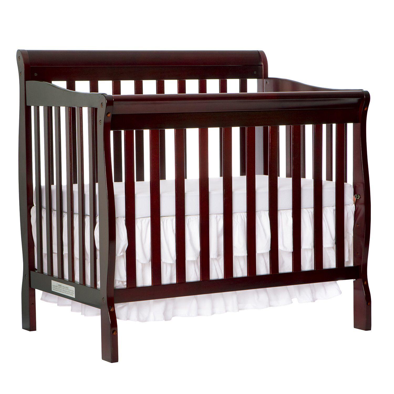 Dream On Me 4 In 1 Aden Convertible Mini Crib Espresso Mini Crib Best Baby Cribs Cribs