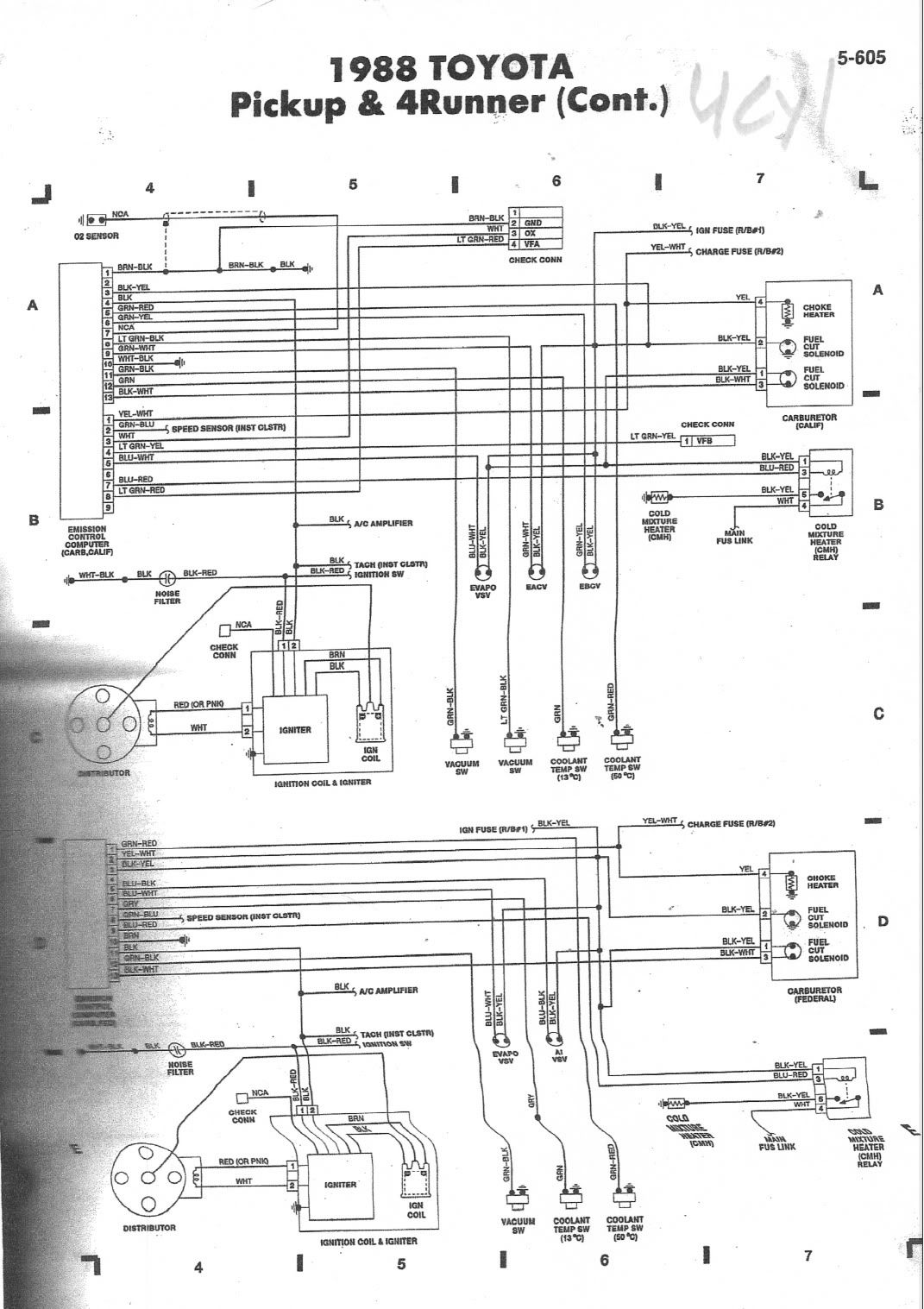 hight resolution of 1990 toyota pickup 3vze wiring diagram wiring diagram home 1990 toyota pickup wiring diagram schematic
