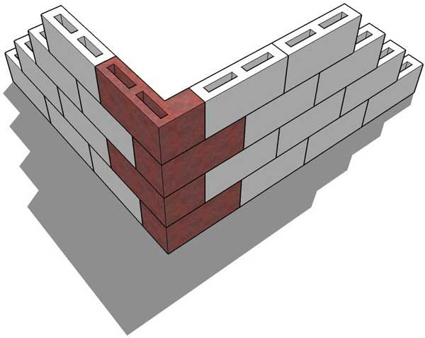 Building Walls With 4x8x16 Block Doityourself Com Community Forums Cinder Block Walls Concrete Blocks Shed Plans