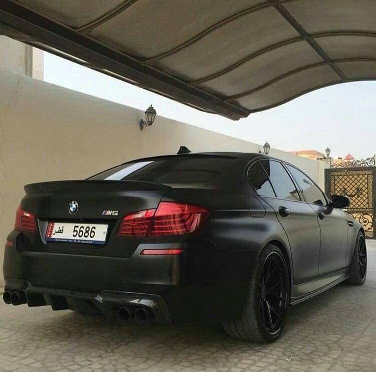 BMW F10 M5 Matte Black