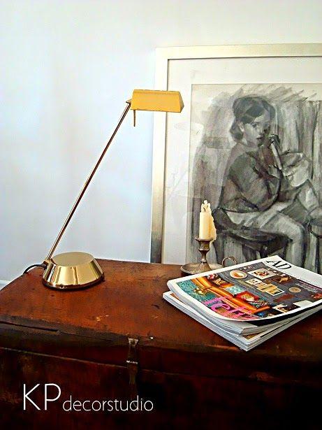 Lámpara despacho FASE años 90 ** Office lamp