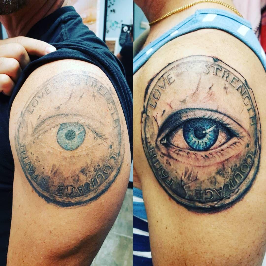 Restyling old  by josmoontattoo #tattoo #tattoos #tattoos #tattooed #inkedboy #inkedgirl #tattoosleeve #woodbridgetattoo #vaughantattoo #japanesetattoo #cherryblossom #inked #ink #inkedup#warriors #armerttattoo #mantattoo #girls #coveruptattoo #tattooedgirls #tattooworld
