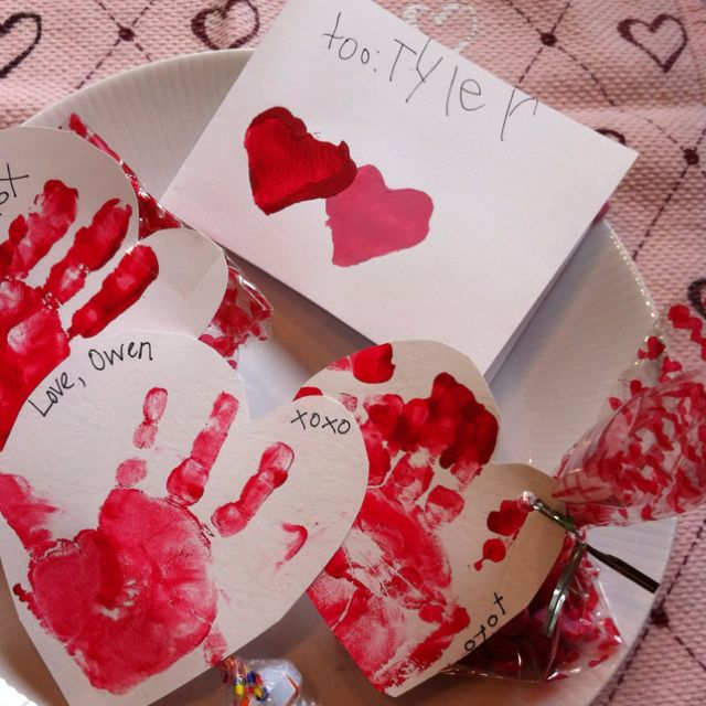 Kid made Valentines!