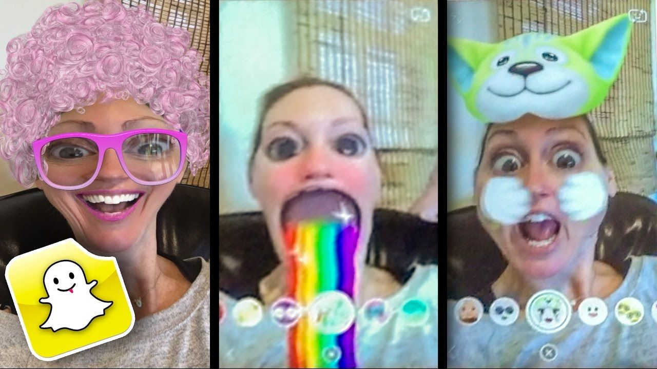 Funny snapchat filters online