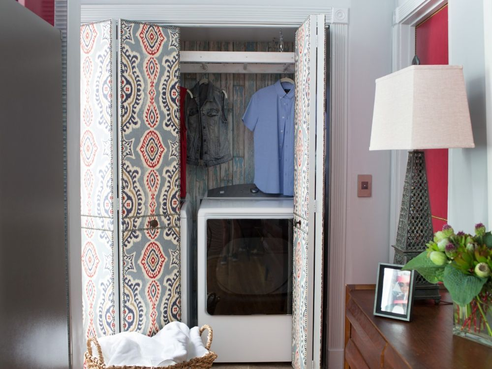 Short on Space? Turn a Closet Into a Laundry Room — HGTV