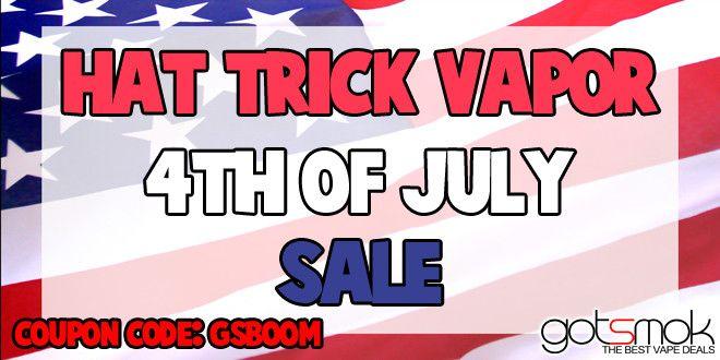 HatTrickVapor 4th Of July Sale | GOTSMOK.COM