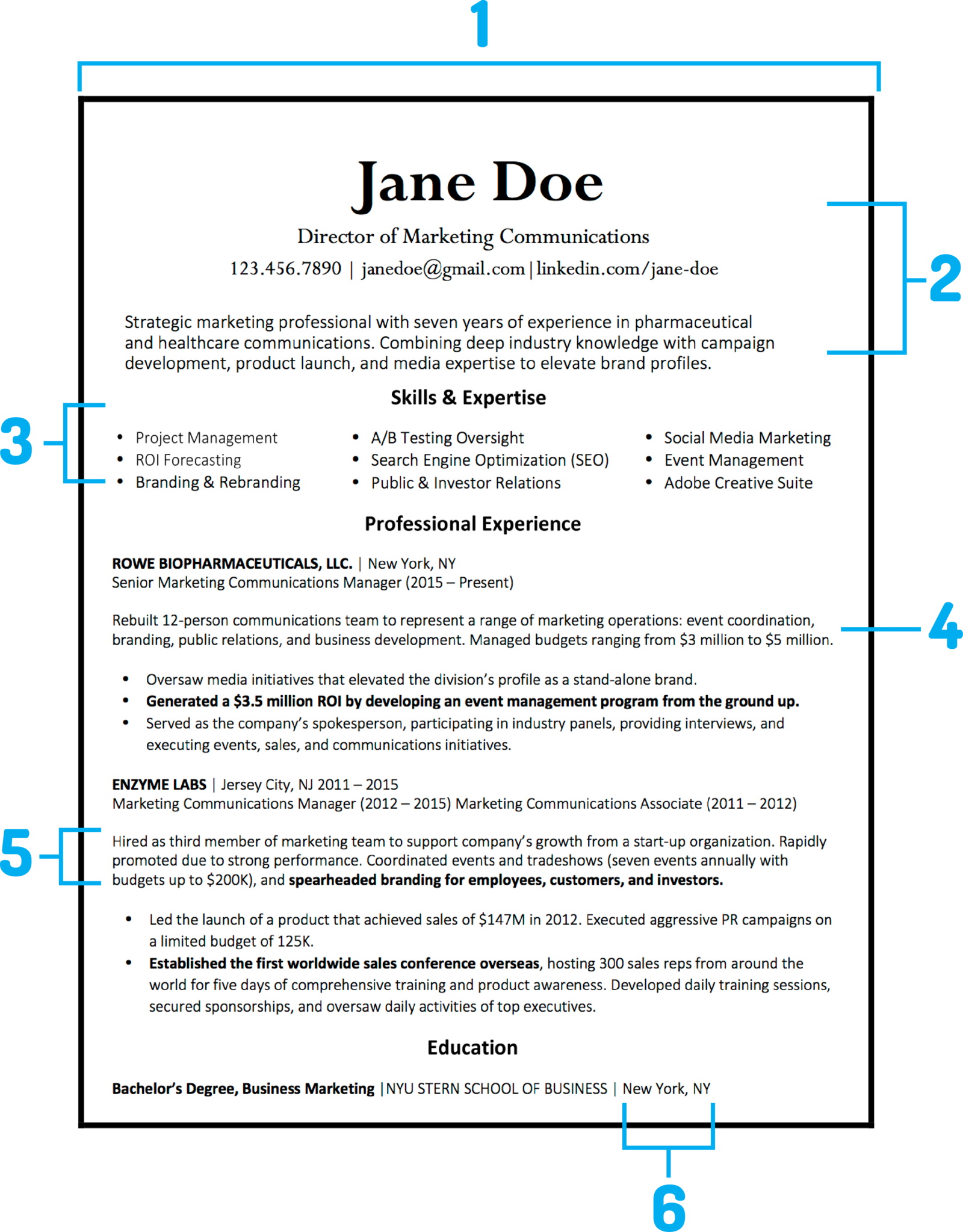 What Your Resume Should Look Like In 2018 Career Pinterest