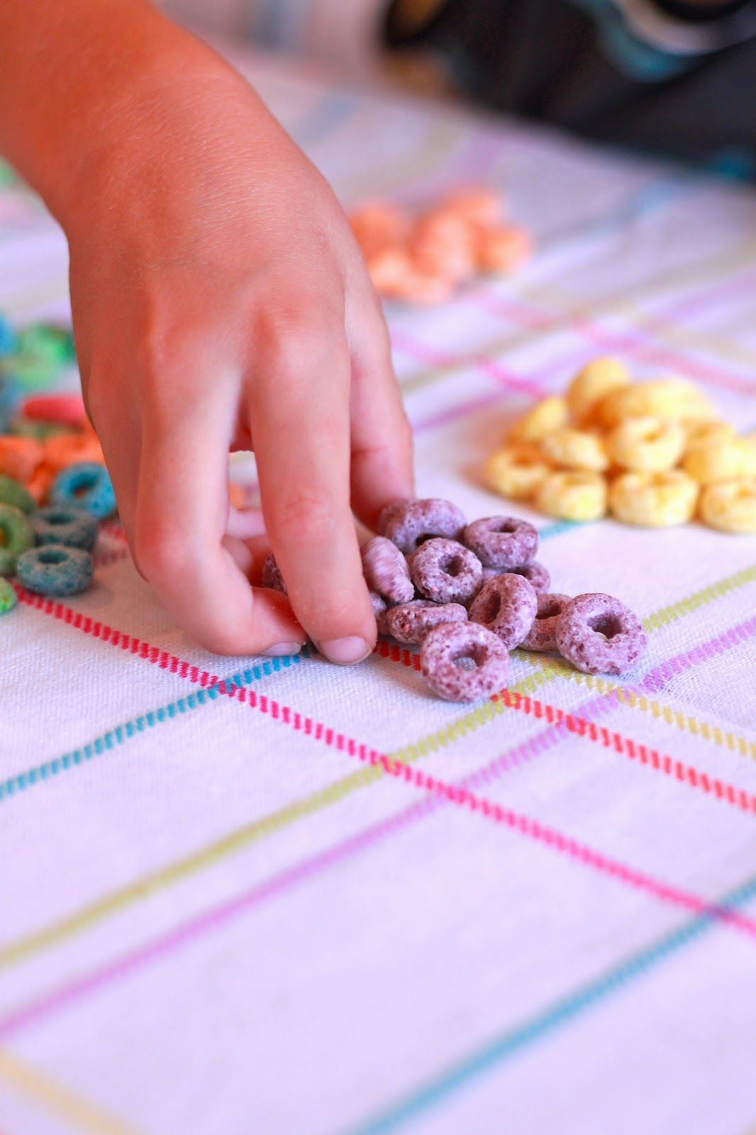 Froot Loop Sand Art with Gospel Colors