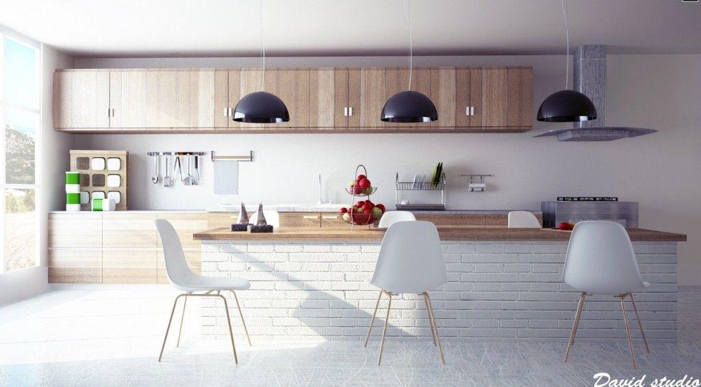 Kitchen Inspiration On Kitchen With Modern Wooden Kitchen