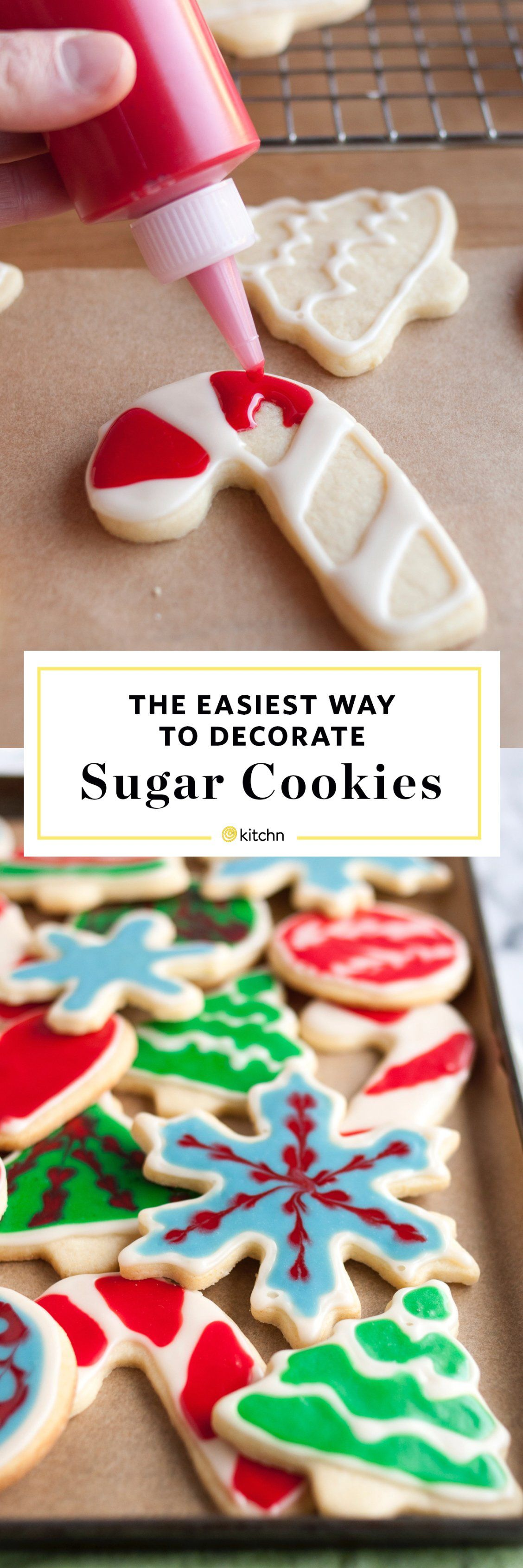 How to Decorate Cookies with Icing Recipe Christmas