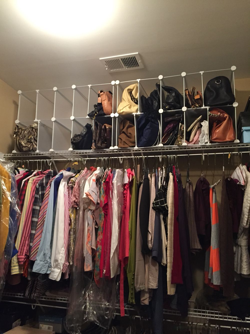 Closet Purse Organizer Closet Organizer Purse