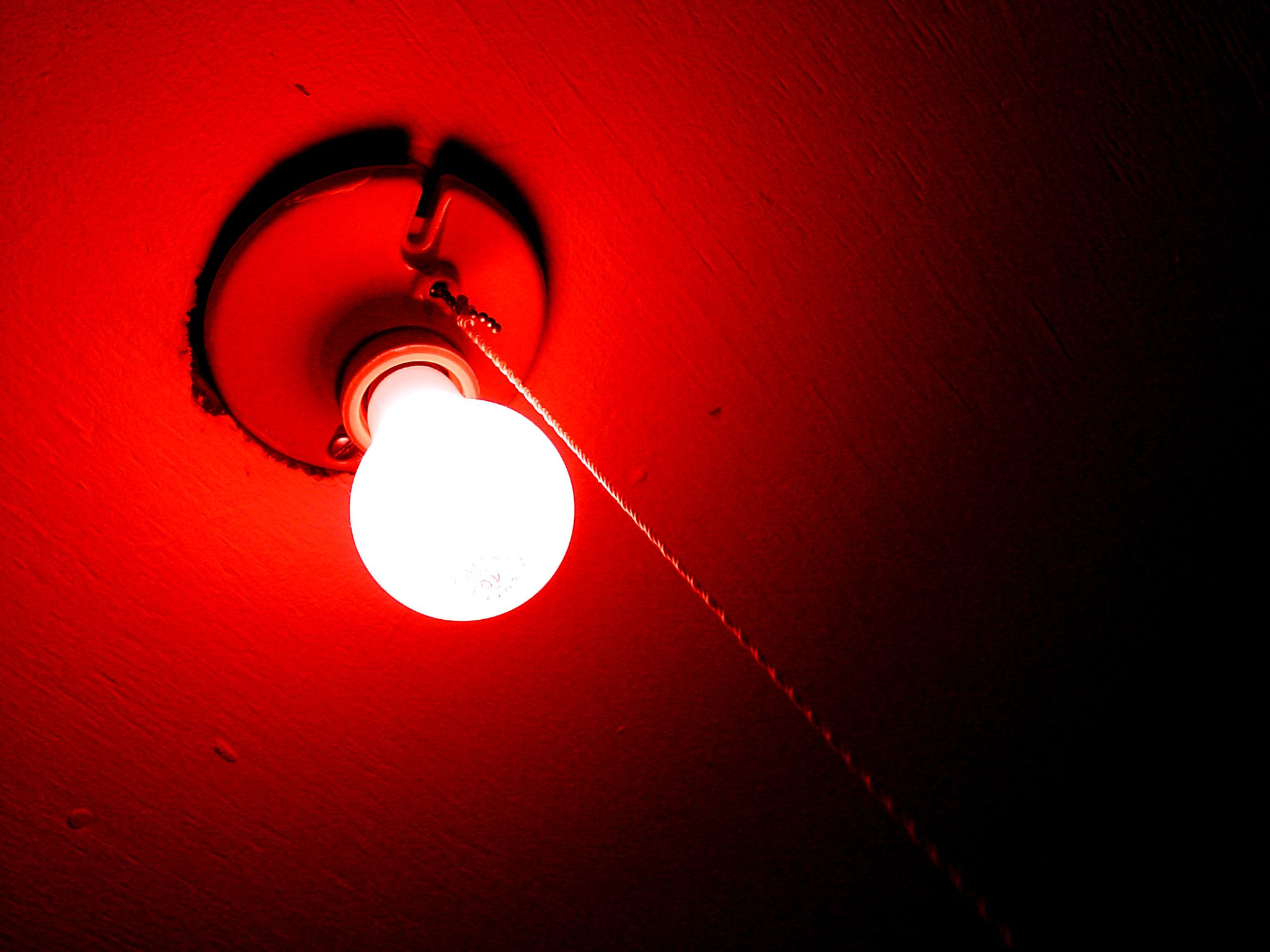 Instead Of A Black Light I Liked Putting Red Bulb In My Ceiling No Improper Activities Went With That Just The Look It Gave Room