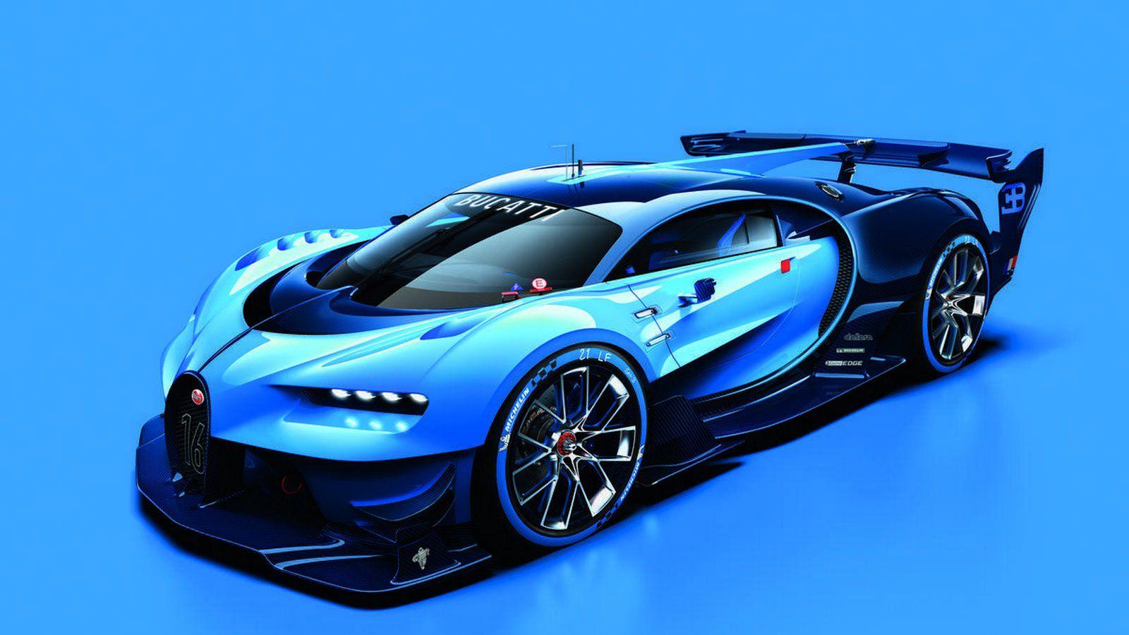 Bugatti Vision Gran Turismo Concept Official Sketch Futuristic Cars Bugatti Cars Super Cars