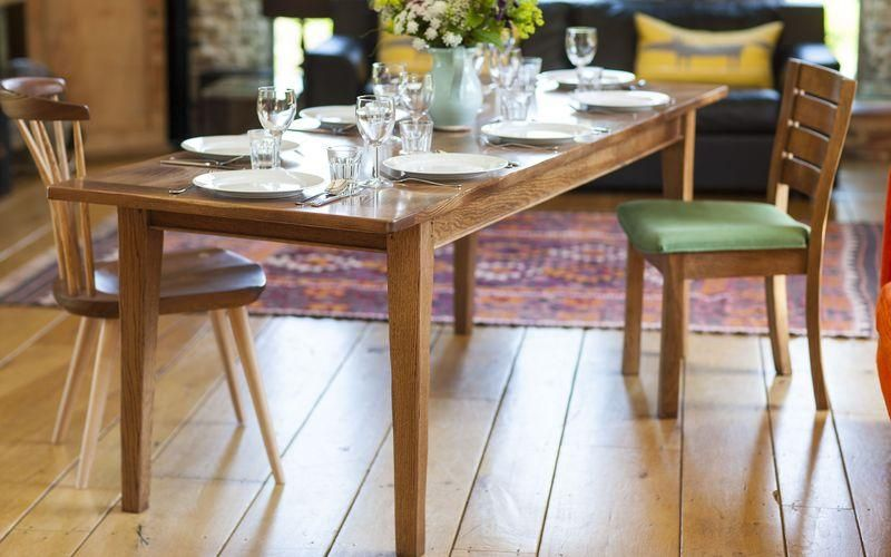 Bespoke Dining Room Tables Oak