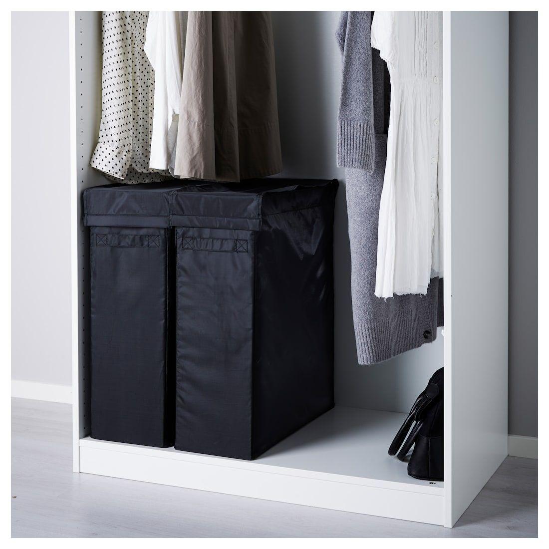 Ikea Skubb Black Laundry Bag With Stand Ikea Ikea Closet