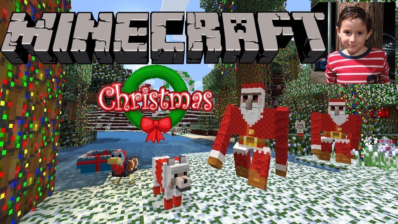 minecraft christmas world exploring playstation 4 - Christmas Minecraft Videos