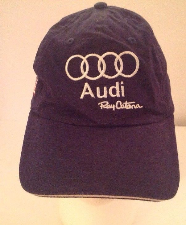Audi Ray Catena Baseball Hat Black Otto Adjustable Embroidered US - Ray catena audi