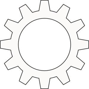Vector Clipart - Infographic template with cogwheels. Vector Illustration  gg64628177 - GoGraph