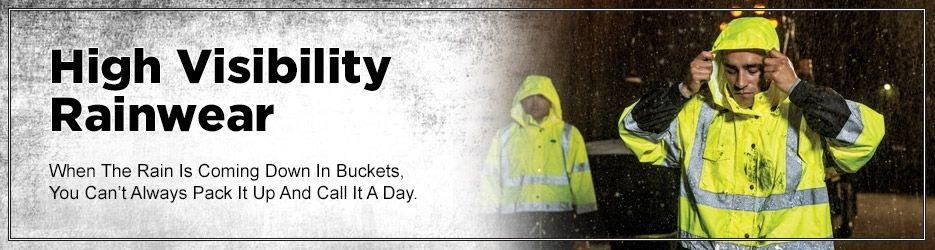 High visibility rain gear rain gear rain rain wear