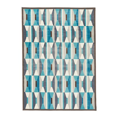 Ikea Vidstrup Rug Low Pile Blue Cm The Thick Dampens Sound And Provides A Soft Surface To Walk On