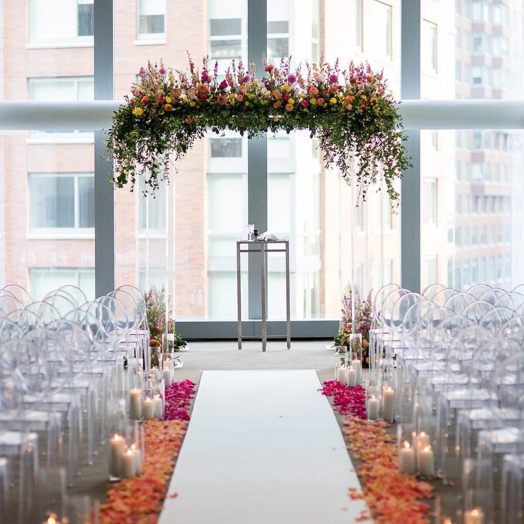Wedding aisle decor ideas diy  Pin by Lloyd Pidduck on Wedding flowers  Pinterest  Wedding