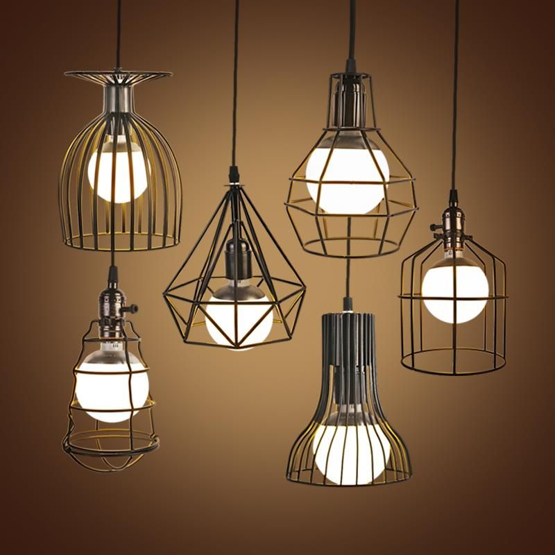 What S Hot On Pinterest Mid Century Table Lamps For Your Loft: Online Get Cheap Birdcage Hanging Lamp -Aliexpress.com